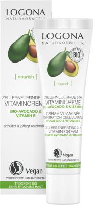 24 H Vitamin Cream eko avocado & vitamin E