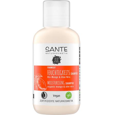 Travel Size Moisturizing Shampoo eko mango & aloe vera 50 ml