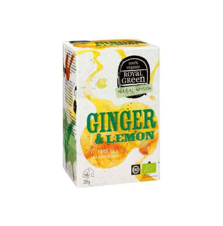 Te - Ginger & Lemon eko