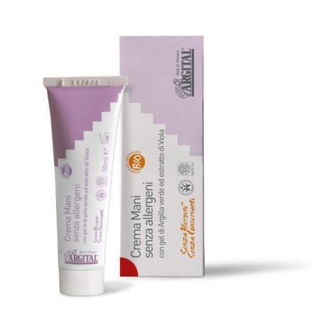 Hand cream allergen free