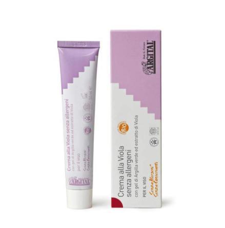 Allergen-free violet cream