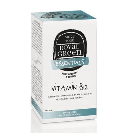 Vitamin B12 60 kapslar