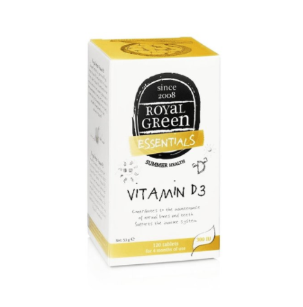 Vitamin D3 120 tabletter