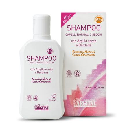 Shampoo for normal or dry hair