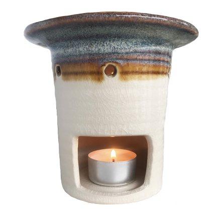 Aromalampa Glazed Clay tower