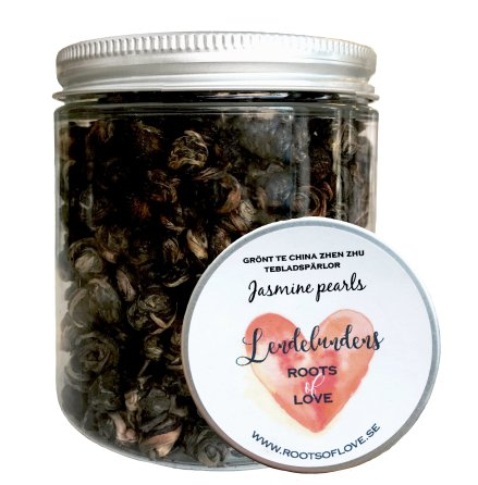 Grönt te - Jasmine Pearls