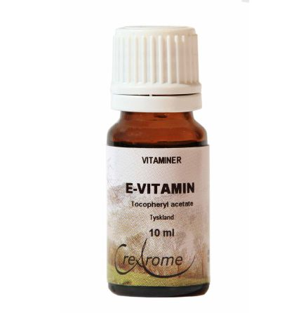 E-vitamin acetat naturlig