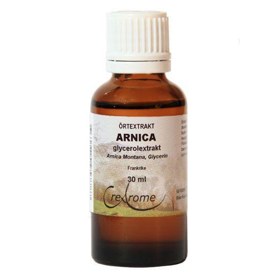 vad är arnica bra för