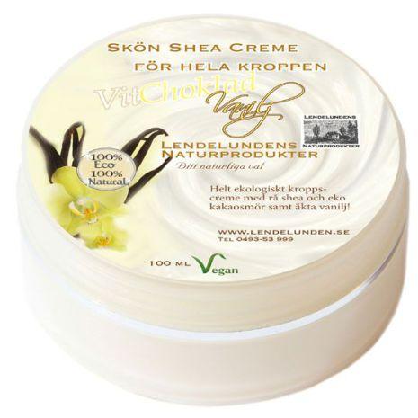 Vit choklad vanilj - Body butter 100ml