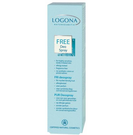 Deo spray Free 100 ml